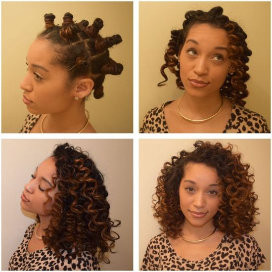Bantu Knots  3b Out & Loose Bantu Knot Out
