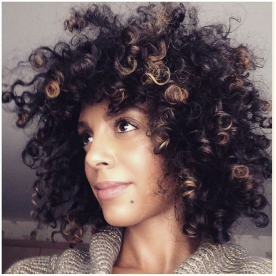 Sun-Kissed Curls 3c Out & Loose Wash and Go curls curly fine curly hair discocurls youtube discocurlstv creme brulee styling cream wash n go natural hair Low maintenance natural hair