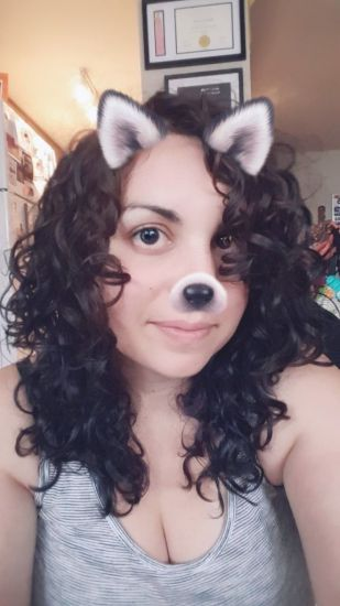 Rare good hair day! 2c 3a Out & Loose Wash and Go