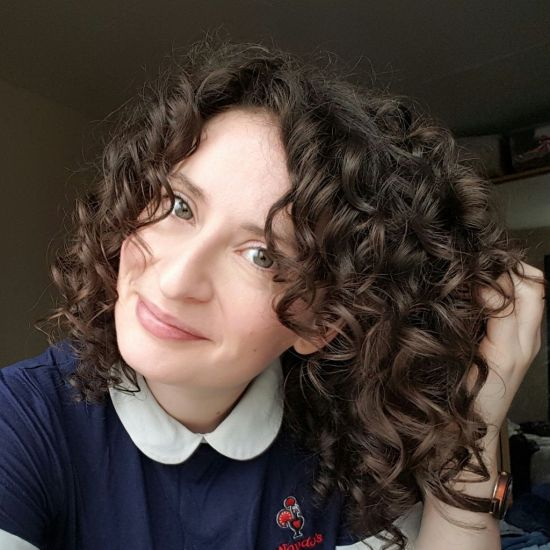 Rainbow henna results  3a Out & Loose Wash and Go