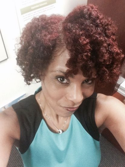 AJJ Vibrant Color and Twist Out - featuring Shea Moisture Color (Bright Auburn) 3c Out & Loose Twist & Curl