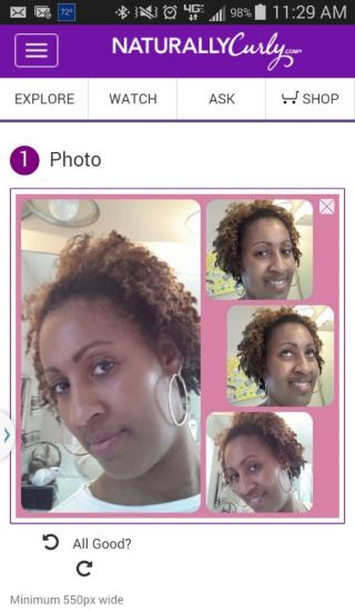 Banging Twist out with the Original Hair Milk Collection 4a 4b 4c Out & Loose Twist Out