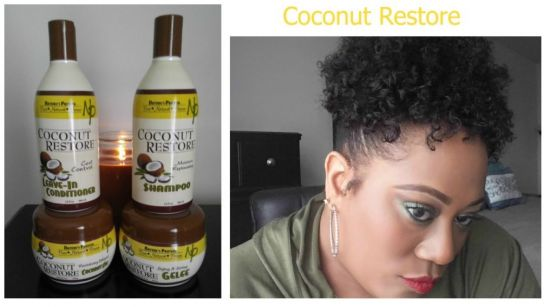 Coconut Restore Products 4b 4c Out & Loose Twist & Curl