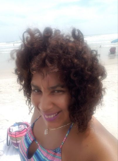 Curly hair beach life 3b Out & Loose Wash and Go