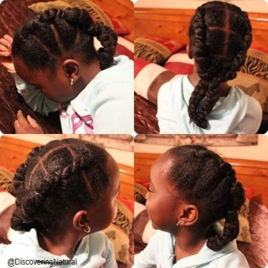 Faux Flat Twists 4a 4b Out & Loose Twist natural hair natural hair kids kids hairstyles flat twist twist