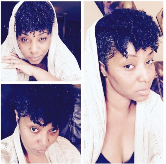 Sunday morning hair 4a 4b 4c Out & Loose Wash and Go