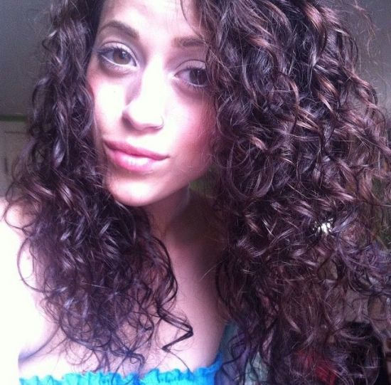 Good hair day! :) 2b 2c Out & Loose curls Waves Curly wavy Love my waves natural light brown hair