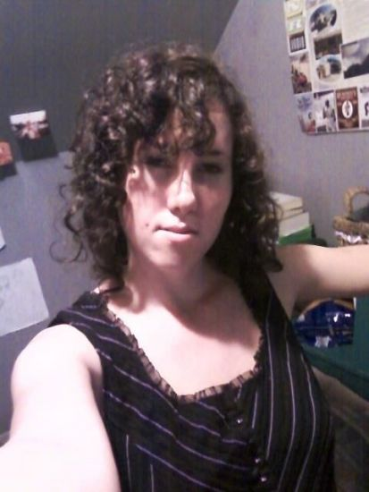 Curls in a Corset! 3b Out & Loose