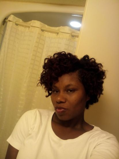 b-day morning 4a Out & Loose Bantu Knot Out