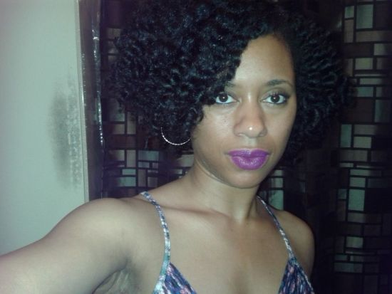 summer 3c Out & Loose Flat Twist Out