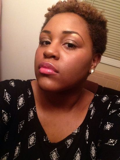 styling a tapered twa 3c 4a Out & Loose Twist Out twa tapered cut