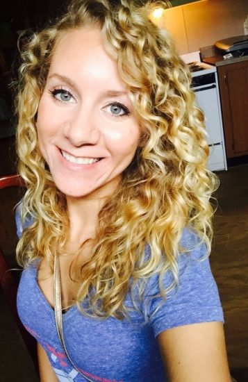 Blonde curls :) 3b Out & Loose Wash and Go