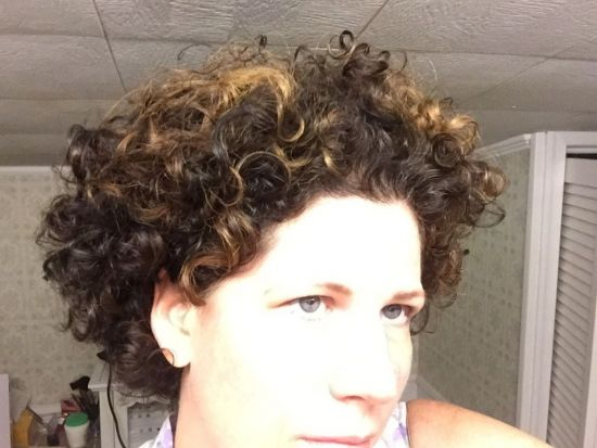 Another wash and go 2c 3a 3b Out & Loose Wash and Go