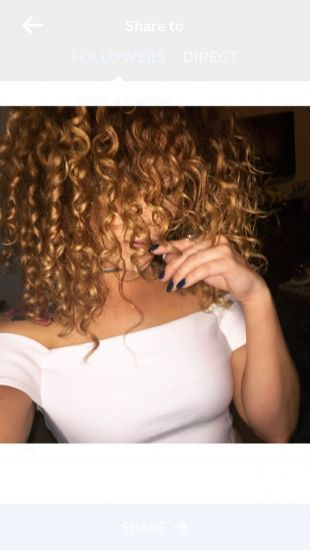 Fresh Curls 3b Out & Loose Long Curly Hair curls naturally curly hair Curly Hair mixed chick