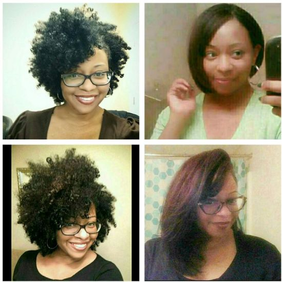 Natural hair growth 4a 4b 4c Out & Loose Wash and Go