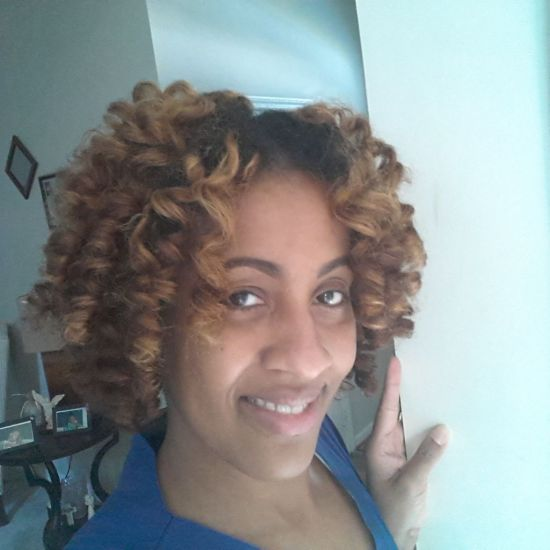 Perm rod set feat. Jane Carter Wrap Roll  Solution 4a 4b Extensions Box Braids