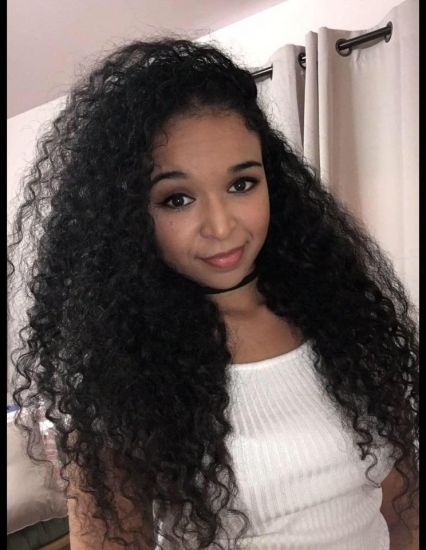 Island Curls 3b Out & Loose Long Curly Hair island long curly hair mixed chick biracial