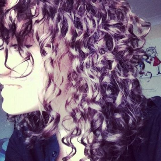 Curls 3a Out & Loose Wash and Go