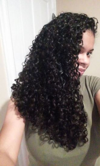 Type 3b, High Porosity 3b Out & Loose Long Curly Hair