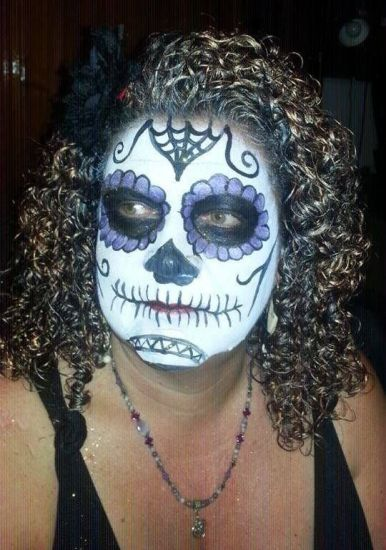 Sugar Skull & Golden Curlz 3b Out & Loose Wash and Go