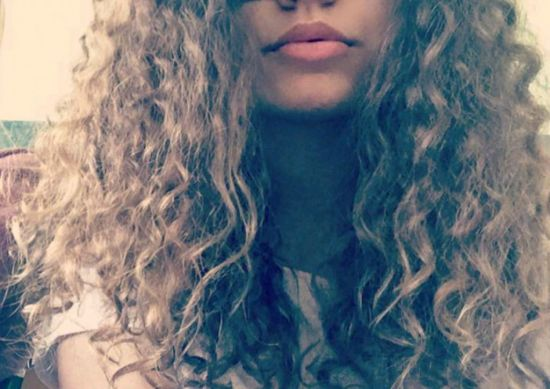 ~Czech 3b Out & Loose Long Curly Hair