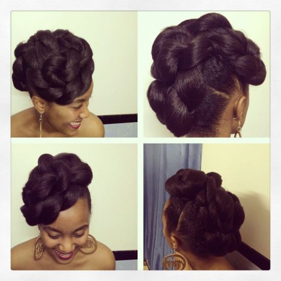 Updo 3c 4a Updo Tuck and Pin