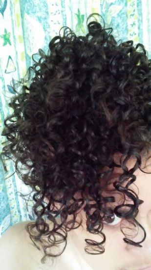 Change's worth it 3b Out & Loose Wash and Go 3B Hair rake and shake Wash and Go