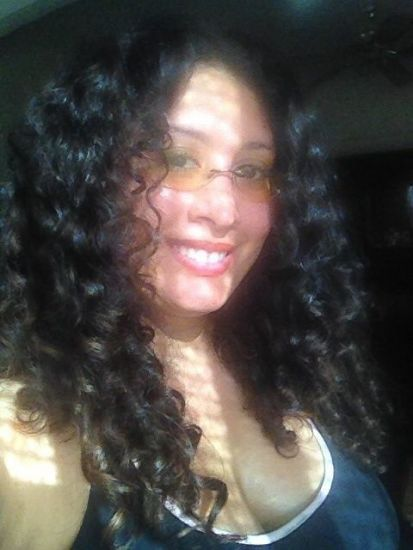 My 3a-3b curls in all it's glory  3a 3b Out & Loose Wash and Go Long curls